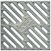 Решетка водоприемная алюминиевая для дождеприемника