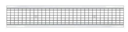 Решетка водоприемная Standart 150 стальная ячеистая (оцинкованная)