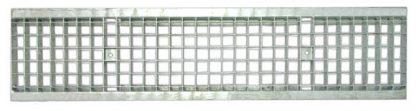Решетка водоприемная Standart 200 ячеистая стальная оцинкованная