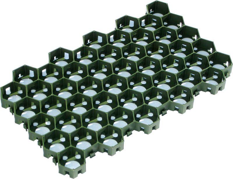 Газонная решетка сота