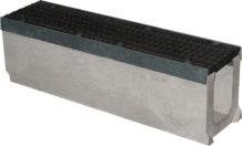 Лоток бетонный Max 150 (высота 275 мм) с чугунными решетками