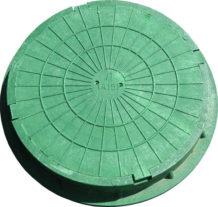 Полимеркомпозитный канализационный люк тип Ло - легкий облегченный (до1,5т.)