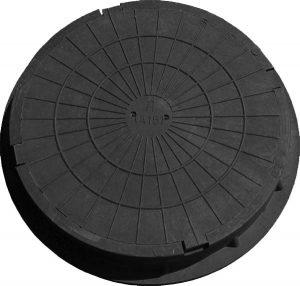 Полимеркомпозитный канализационный люк тип Л - легкий облегченный