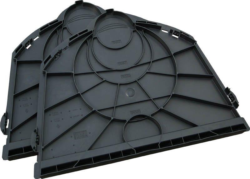 Комплект заглушек для дренажного тоннеля