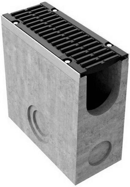 Пескоуловитель бетонный Max 150 с чугунными решетками