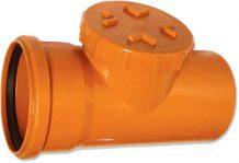 Ревизия для трубы наружной канализации